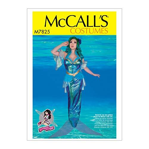 McCall's Patterns McCall's Women's Mermaid Costume Sewing Pattern by Yaya Han, Sizes 14-22