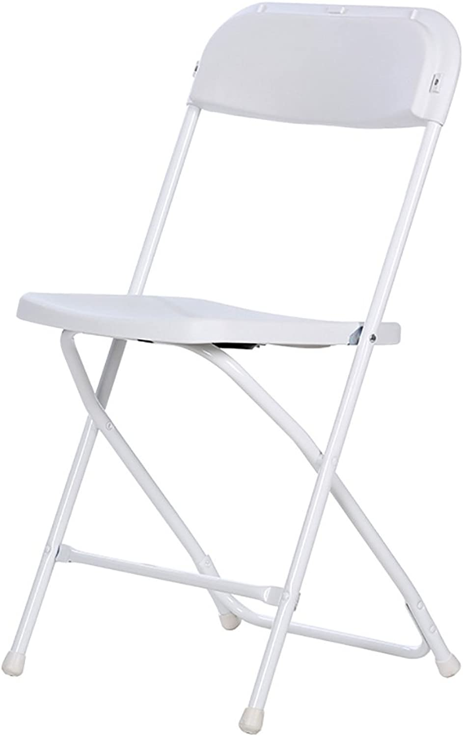 Chair Folding Chairs Plastic Folding Chairs Business Show Chairs Leisure Back Chairs Computer Chairs Dining Chairs Office Chairs Chair Chairs (color   White)