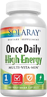 ONCE DAILY HIGH ENERGY MULTI    180 capsules