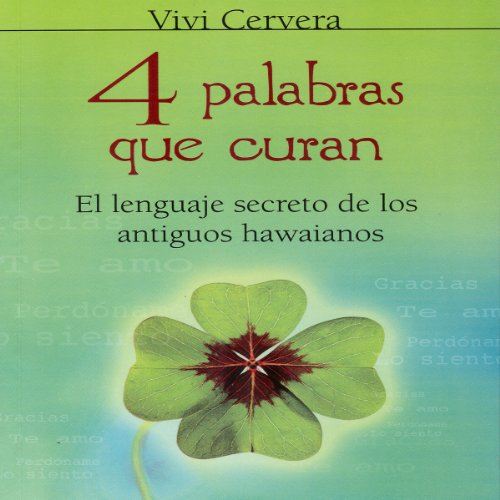 4 palabras que curan audiobook cover art