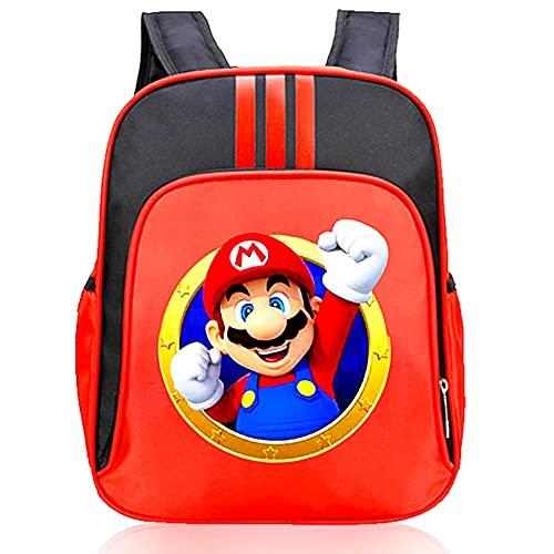 """Super Mario Zaino, CYSJ -Zaino per ragazzi a tema personaggio dei cartoni animati """"Super Mario"""", Cartoon Super Mario Zaino , perfetto per la scuola,Anime Zaino ,Scuola Zaino per Ragazzi"""