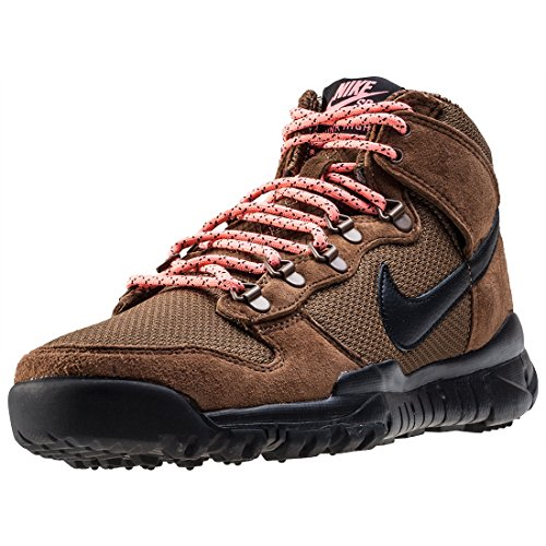 Nike SB Dunk High Boot, Scarpe da Skateboard Uomo, Marrón (Military Brown/Black-Dark Khaki), 42.5 EU