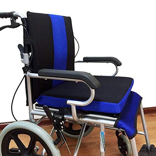 YOUGL Rollstuhlkissen Anti-Dekubitus-Rückenkissen zur Schmerzlinderung bei Rückenschmerzen, Ischias, für Rollstuhlfahrer und den täglichen Gebrauch