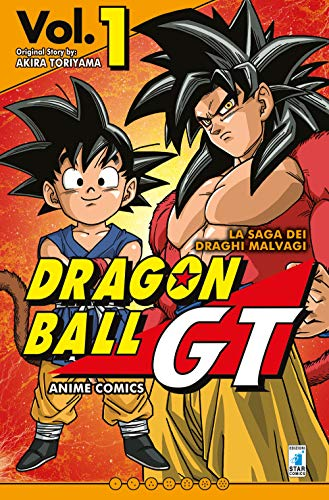 La saga dei draghi malvagi. Dragon Ball GT. Anime comics (Vol. 1)