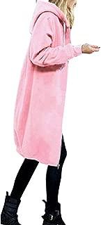 Women Warm Zipper Hoodies Sweatshirt Long Coat Jacket Tops Outwear Novelty Hoodies Fashion Sweaters Daorokaduhp