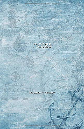 notes: Das Design im Notizbuch: Blanko Notizbuch Nostalgie Vintage Kompass, Tagebuch, Journal, 150 weiße Seiten, Format A5, inkl. Seitenzahlen und gestalteter Kopfzeile #8