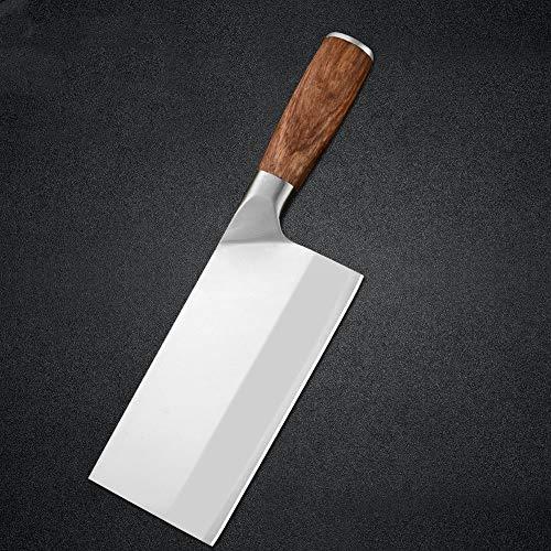 Cuchillo profesional 7 '' de acero inoxidable cuchillo de cortar la manija 4Cr13 de la lámina aguda madera Cleaver el deshuesado cuchillo de carnicero carne, pescado, utensilios de cocina