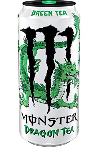 Monster Dragon Tea Green 12 x 458 ml Usa Import