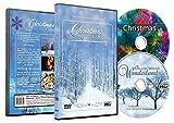 Christmas 2 DVD Set - Christmas Collection Videos of Falling Snow, Christmas Lights & Fireplaces