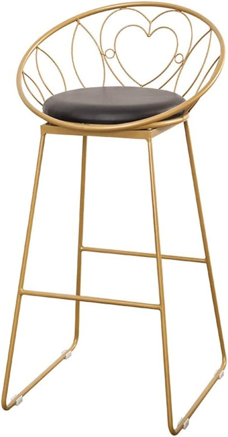 Golden Modern Minimalist Style Iron Super special price Barstool Livi Bench Max 57% OFF High for