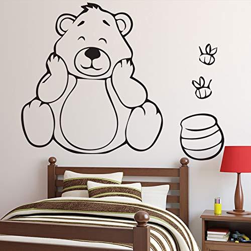 sanzangtang Grappige muurstickers voor kinderen slaapkamer decoratie zelfklevend behang vinyl creatieve muurstickers woondecoratie accessoires