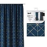 room99 - Cortinas modernas, 140 x 250 cm, con corchetes y cinta fruncidora,...