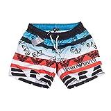 Emporio Armani Pantaloncini da Bagno per Uomo (XXL, EA7 Black)