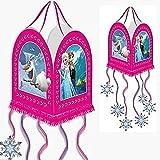 Set de 2 Piñatas Infantiles Decorativas'Frozen Elsa-Ana-Olaf 28x36 cm. Disney. Juguetes y Regalos Baratos para Fiestas de Cumpleaños, Bodas, Bautizos y Comuniones. AB