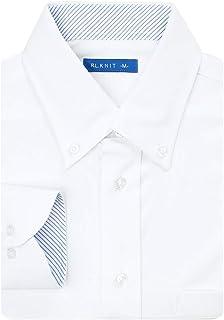 (ビジネススタイル アルフ) ニットシャツ ワイシャツ 長袖 ストレッチ ノーアイロン イージーケア 形態安定 Yシャツ/sun-ml-sbu-1788-alf