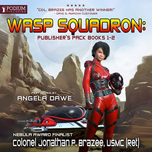 Wasp Squadron: Publisher's Pack audiobook cover art