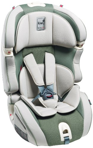 Kiwy 14103KW02B Child Car Seat Group 1/2/3 with Isofix 9-36 kg Aloe