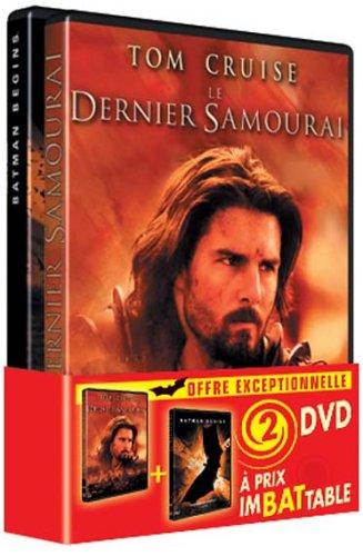 Batman Begins + Le dernier Samouraï [Francia] [DVD]
