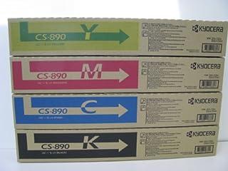 京セラ CS890K/Y/C/M Taskalfa205c/255c/206ci/256ci 純正トナー   4色セット