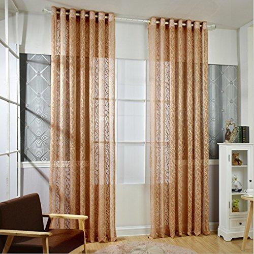 Met Love Warp Tricot Fenêtre de projection Jacquard Fenêtre de dépistage Salon Chambre Studio dédié balcon baie vitrée 2 panneaux (taille : L:2.5*H:2.7m)