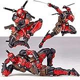 XAGB Los Vengadores 3 Figuras de acción Deadpool Infinity muñecas Guerra de superhéroes Figurines los niños Juguetes for los niños del Anime Modelo (Color : Red)