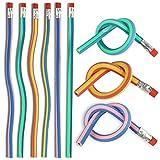 THE TWIDDLERS 70 Biegsame Biegebleistifte, Flexible Biegbare Bleistifte für Kinder - Kindergeburtstag, Partytüten, Mitgebsel, Pinata, Mitbringsel, Gastgeschenke.