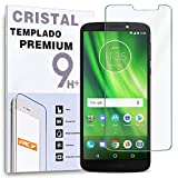 REY Protector de Pantalla para Motorola Moto G6 Play, Cristal Vidrio Templado Premium