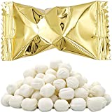 Gold Buttermints, Mint Candies, After Dinner Mints, Butter Mint Candy, Fat-Free, Kosher Certified, Individually Wrapped (100 Pieces)