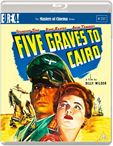 Five Graves To Cairo (Masters of Cinema) Blu-ray 2020 Reino