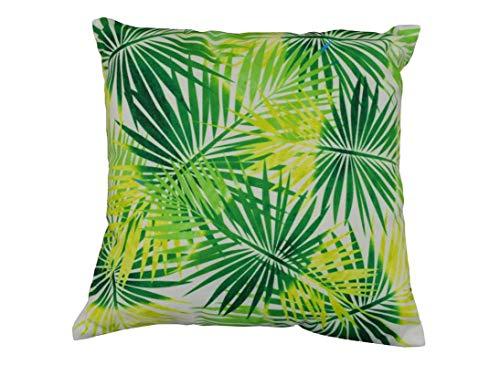 Lot de 2 Coussins Tropique - 45 x 45 - Vert