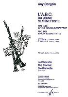 ギィ・ダンガン : 若いクラリネット奏者のABC 第二巻 (クラリネット教則本) ビヨドー出版