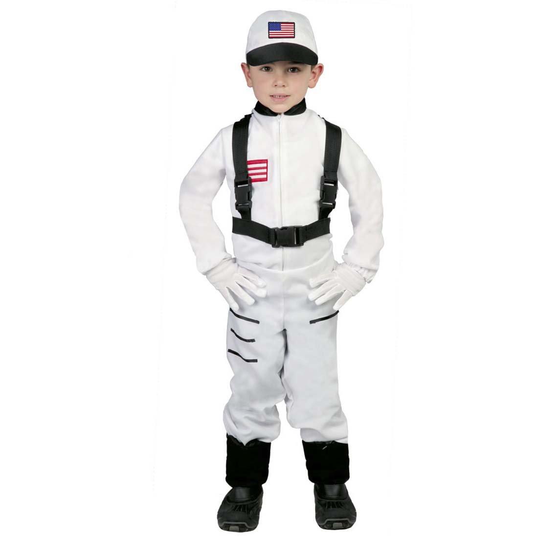 Amakando Traje Viajero Espacial Disfraz Astronauta Infantil M 128 ...