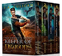 Keeper of Dragons: The Complete Series by [J.A. Culican]