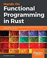 Hands-On Functional Programming in Rust Front Cover
