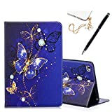 iPad Mini Case, Mini 2/3 / 4 Case Stand Folio Wallet Case Shockproof