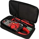KS Tools 150.0929–Pinza amperimétrica digital, 1000V, Negro/Rojo