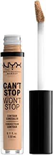 NYX PROFESSIONAL MAKEUP Can't Stop Won't Stop Contour Concealer - Natural, Nude With Neutral Undertone