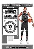 2019-20 Contenders NBA Season Ticket #57 Kevin Durant Brooklyn Nets Official Panini Basketball Trading Card