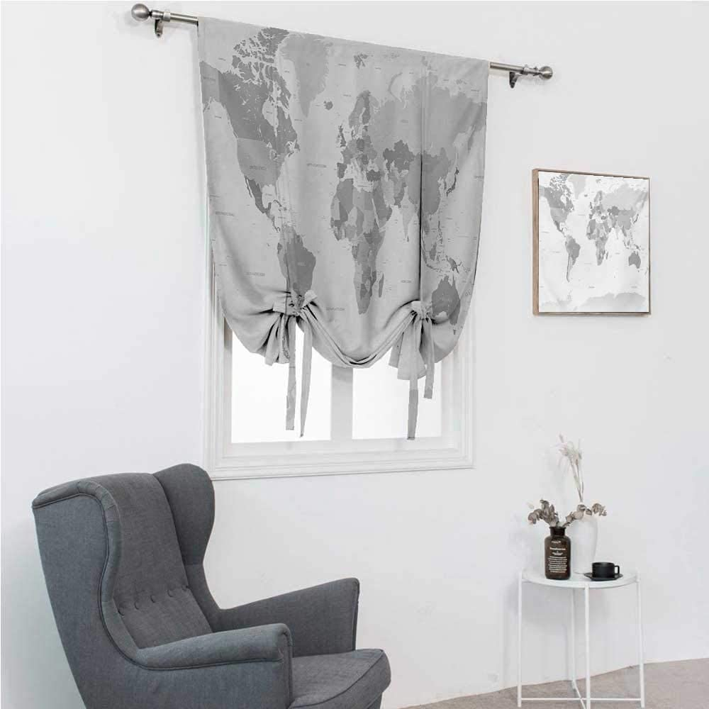 GugeABC Roman Don't miss OFFer the campaign Shades Grey Detaile for Window