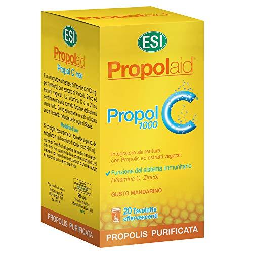 Esi Propolaid Propol C 1000 Mg Integratore alimentare - 20 Tavolette