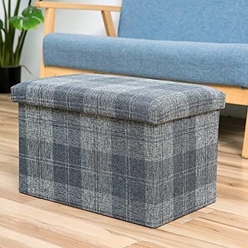 BAIGM Caja de almacenamiento en forma de cubo, plegable, acolchada, multifuncional, con espacio de almacenamiento