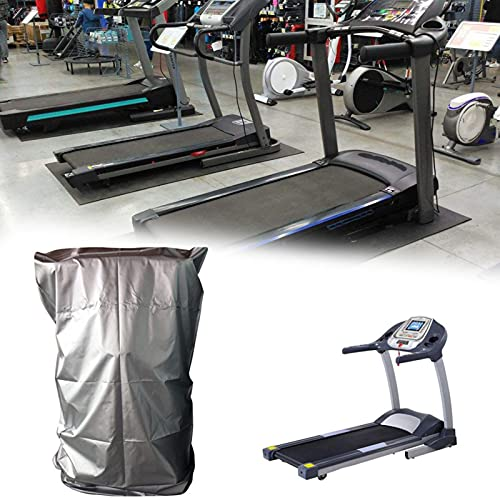 Funda protectora para cinta de correr, resistente al polvo, de tela Oxford, con cremallera, resistente al agua, al polvo, anti UV, para casa, gimnasio, 95 x 110 x 160 cm