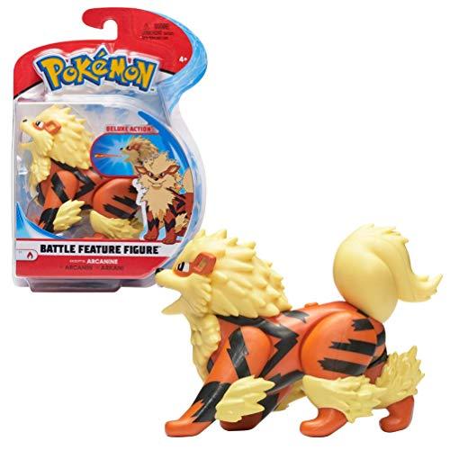 Pokémon Figura Arcanine   12 CM   El Juguete Pokémon Más Nuevo 2021  Detalles Auténticos y Mecanismos Dinámicos Únicos