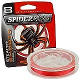 Spiderwire Tresse 8 Brins Stealth Smooth8-0.08mm - 6Kg - 300m - Code Red - 1515692