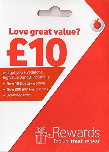 Vodafone PREPAID Sim-karte Triple SIM Packung(2 SIM-Karte Limit)
