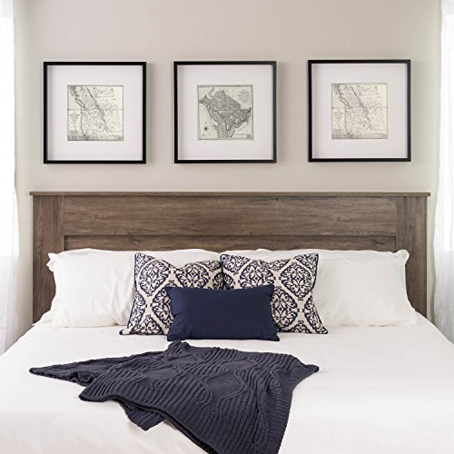 Visit the Prepac Select King Flat Panel Headboard Drifted Gray on Amazon.