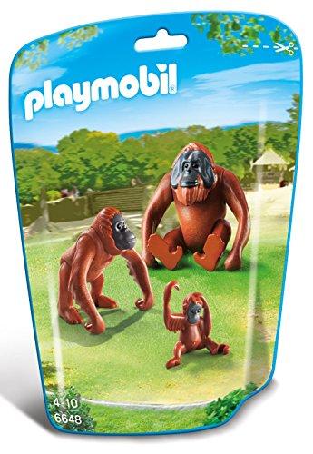PLAYMOBIL - Familia de orangutanes 66480