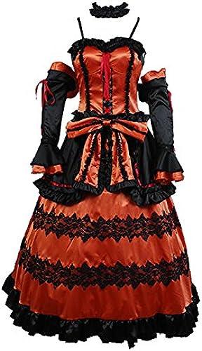 DATE A LIVE Kurumi Tokisaki Astral Kleid Cosplay Kostüm Komplett Set