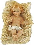 Ferrari & Arrighetti Figuras Belén: Niño Jesús en la cuna de 14 cm para Nacimiento