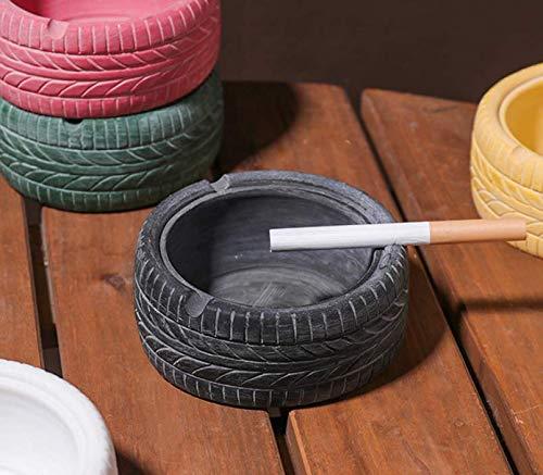 卓上灰皿 オシャレ置物 カフェ レストラン お店 テーブル 家庭用灰皿 置き物 おしゃれ 樹脂灰皿 タイヤスタイリング